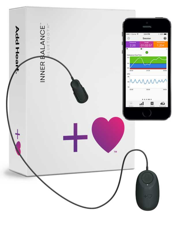 Inner Balance™ Trainer (Bluetooth sensor) voor iPhone en Android